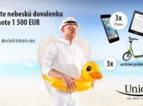 Vyhrajte nebeskú dovolenku v hodnote 1500 € a množstvo skvelých letných cien!