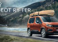Vyhrajte novinku Peugeot Rifter s plnou nádržou na celý týždeň