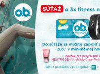 o.b.® súťaž o fitness náramky Garmin