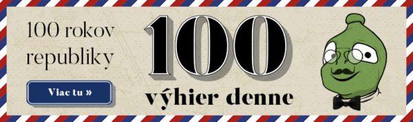 100 výhier každý deň