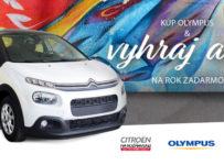 Kúp si OLYMPUS a vyhraj auto!