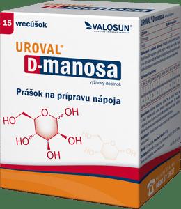 Súťaž o balíček produktov Uroval® D-manosa