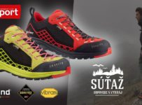 Súťaž o exkluzívnu turistickú obuv Gravity GTX od značky Kayland