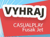 Súťaž o kvalitný trendy fusak CASUALPLAY Jet