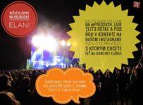 Súťaž o lístky na koncert Elánu 22. 9. na prešovskom amfiteátri