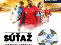 Súťaž o oficiálnu futbalovú loptu súťaže Ligy národov