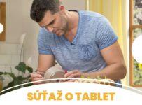 Súťaž o tablet Huawei s TV Paprika