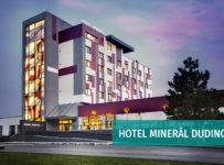 Súťaž o víkendový pobyt pre 2 osoby v kúpeľnom hoteli Minerál v Kúpeľoch Dudince