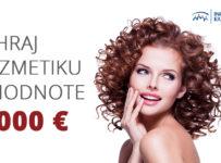 Súťaž o kozmetiku v hodnote 1.000 €