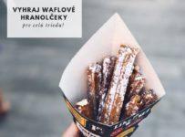 Vyhraj waflové hranolky pre celú triedu
