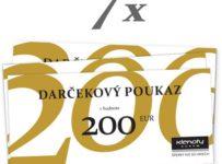 Vyhrajte 7x voucher v hodnote 200 € do Klenoty Aurum