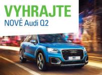 Vyhrajte nové Audi Q2 1,4 TFSI