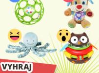 Vyhrajte super hračku, hrkálku pre najmenších Oball Rattle