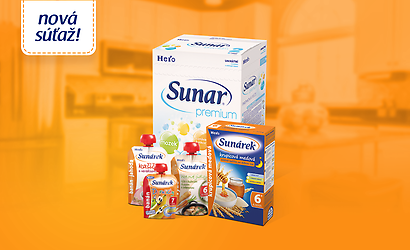 Súťaž o balíček produktov Sunar a Sunárek