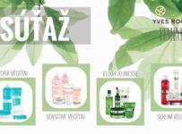 Súťaž o balíček produktov od Yves Rocher Slovensko