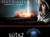 Súťaž o cool tričko NASA