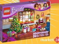 Súťaž o jedinečné LEGO Friends adventný kalendár
