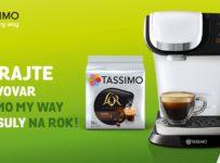 Súťaž o kávovar Tassimo My Way a kapsuly na rok