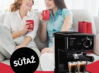 Súťaž o pákové espresso Sencor SES 1710BK