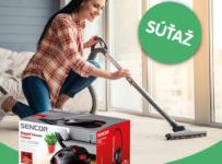 Súťaž o podlahový vysávač Sencor SVC6000
