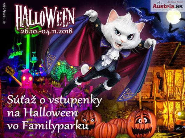 Súťaž o vstupenky na Halloween 2018 do Familyparku