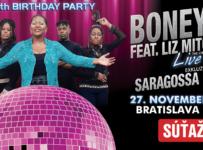 Súťaž o vstupenky na narodeninový koncert BONEY M