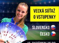 Súťaž o vstupenky na zápas slovenskej futbalovej reprezentácie proti Česku