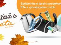 Súťažte s ETA o ceny v hodnote 400€