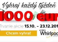 Vyhraj každý týždeň 1000 EUR