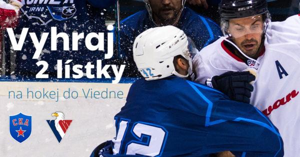 Vyhraj lístky na hokejový zápas HC Slovan Bratislava - SKA Petrohrad vo Viedni