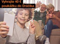 Vyhrajte 40€ poukážku do Dráčika