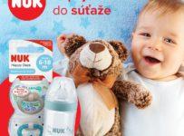 Vyhrajte dojčenskú fľašu a cumlíky od značky NUK