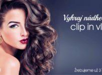 Vyhrajte nádherné clip in vlásky od gabriella HAIR & BEAUTY