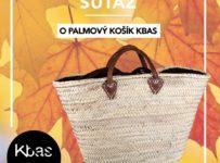 Vyhrajte palmový košík z dielne Kbas