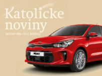 Predplaťte si Katolícke noviny a vyhrajte auto Kia Rio