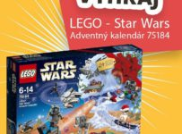 Súťaž o jedinečné LEGO Star Wars 75184 - Adventný kalendár