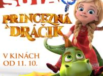 Vyhrajte 5x 2 vstupenky na špeciálnu premiéru rozprávkového príbehu Princezná a dráčik