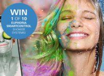 Vyhrajte jeden z desiatich sprchových systémov GROHE Euphoria SmartControl