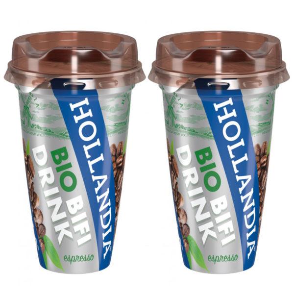 Súťaž o balík Hollandia Bio BiFi drinkov espresso