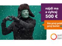 Nájdi Funtomasa a vyhraj 500€ od Poštovej banky