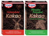 Objavte čaro ozajstného kakaa, súťaž o balíčky produktov Dr. Oetker