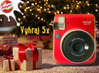 Súťaž o štýlový foťák Instax mini