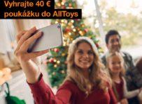 Súťaž o 18 x 40 € poukážku do AllToys