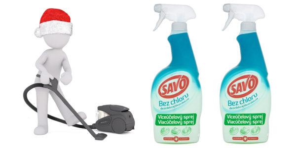 Súťaž o 5 balíčkov s dvojicou viacúčelových sprejov SAVO