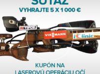 Súťaž o 5 kusov 1 000 € zľavových kupónov na operáciu