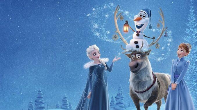 Súťaž o DVD Vianoce s Olafom