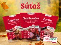 Súťaž o balíčky výrobkov Mäspoma