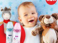 Súťaž o dojčenskú fľašu a plyšového oslíka od značky NUK