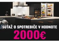 Súťaž o spotrebiče do kuchyne v hodnote 2 000 €