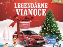 Súťažte o Treska ponožky, vianočný stromček a auto Kia Ceed